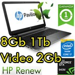 Notebook HP Pavilion 15-ab203nl Core i5-6200U 8Gb 1Tb 15.6' HD LED Nvidia 940M 2GB Windows 10 BLUE P0S22EA 1Y