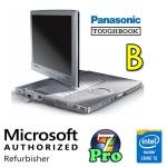 Notebook Panasonic Toughbook CF-C1 Core i5-2520M 4Gb 128Gb SSD 12.1' Touchscreen 3G Windows 7 Pro [GRADE B]