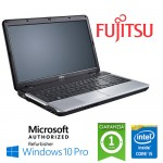 Notebook Fujitsu Lifebook A531 Core i5-2450M 4Gb 320Gb 15.6' LED DVD-RW Windows 10 Professional
