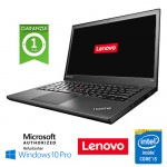 Notebook Lenovo Thinkpad T440 Core i5-4300U 8Gb 240Gb SSD 14.1' WEBCAM Windows 10 Professional