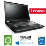 Notebook Lenovo Thinkpad X220 Core i5-2520M 4Gb 320Gb 12.1' WXGA Windows 10 HOME