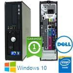 PC Dell Optiplex 780 SFF Core 2 Duo E7500 2.93Ghz 4Gb Ram 250Gb DVD Windows 10 HOME