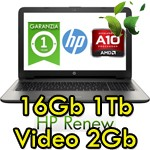 Notebook HP Pavilion 15-ab112nl AMD A10-8780P 16Gb 1Tb 15.6' LED Radeon R7 M360 2GB Windows 10 HOME