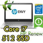 Notebook HP ENVY 13-d012nl Core i7-6500 8Gb 512Gb SSD 13.3' FHD Windows 10 HOME