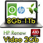 Notebook HP Pavilion 15-ab113nl AMD A10-8780P 8Gb 1Tb 15.6' LED Radeon R7 M360 2GB Windows 10 1Y