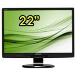 Monitor PC LCD 22 Pollici Philips 221S Wide VGA DVI Black
