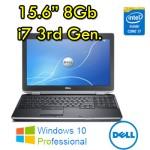 Notebook Dell Latitude E6530 Core i7-3520M 2.9GHz 8Gb 320Gb 15.6' DVDRW Windows 10 Professional