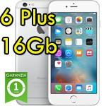 iPhone 6 Plus 16Gb Argento A8 WiFi Bluetooth 4G Apple MGA92QL/A 5.5' Silver iOS 10