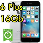 iPhone 6 Plus 16Gb Grigio Siderale A8 WiFi Bluetooth 4G Apple MGA82ZD/A 5.5' SpaceGray iOS 11