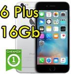 iPhone 6 Plus 16Gb Grigio Siderale A8 WiFi Bluetooth 4G Apple MGA82ZD/A 5.5' SpaceGray iOS 10
