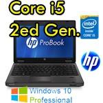 Notebook HP ProBook 6360b Core i5-2410M 4Gb 320Gb 13.3' Webcam DVDRW WEBCAM Windows 10 Professional