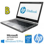 Notebook HP Elitebook 8460p Core i5-2520M 2.5GHz 4Gb 500Gb WEBCAM DVD-RW 14.1' LED HD Windows 10 Pro [Grade B]
