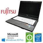 Notebook Fujitsu Lifebook S782 Core i5-3230M 4Gb 320Gb DVD-RW 14.1' Windows 10 Professional