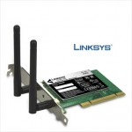 Scheda di Rete Wifi Linksys WMP600N Dual-Band Wireless-N PCI Adapter