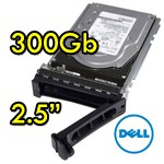Hard disk per Server Dell 9WE066-150 300Gb SAS 10K 2.5' Hot Swap per R610 R710 R910 Altri
