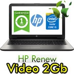 Notebook HP 15-ay006nl Core i5-6200U 4Gb 500Gb 15.6' HD BV LED AMD Radeon R5 M1-30 2GB Windows 10 HOME