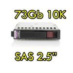 Hard Disk per Server HP SAS 2.5' 73Gb 10K Hot Swap per Proliant DL ML BL G5 G6 G7