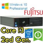 PC Fujitsu Esprimo E500 Core i3-2100 3.1GHZ 4Gb Ram 320Gb DVDRW Windows 10 Professional