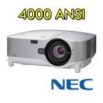 Video Proiettore LCD NEC NP3250W 4000 ANSI WXGA (1280x800) 16:10
