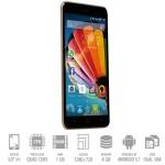SmartPhone Mediacom Phonepad G515 Dual Sim 1Gb 8Gb 5' HD 2000mAh Black Gold Android 5.1