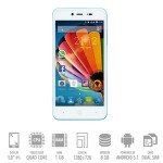 SmartPhone Mediacom Phonepad G515 Dual Sim 1Gb 8Gb 5' HD 2000mAh Blue Sky Android 5.1