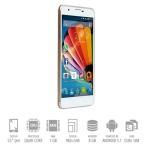 SmartPhone Mediacom Phonepad G551 Dual Sim 1Gb 8Gb 5' HD 2500mAh White Gold Android 5.1
