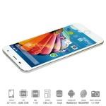 SmartPhone Mediacom Phonepad X532L Dual Sim 4G 1Gb 16Gb 5' HD 2500mAh Fingerprint White Gold Android 6
