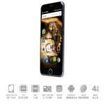 SmartPhone Mediacom Phonepad X532U Dual Sim 4G 3Gb 16Gb 5' HD 2500mAh Fingerprint Grey Android 6