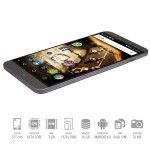 SmartPhone Mediacom Phonepad X555U Ultra Dual Sim 4G 3Gb 16Gb 5.5' HD 3000mAh 16 Megapixe Grey Android 6