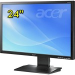 Monitor LCD 24 Pollici Acer B243W LED 1920x1200 Black