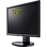 Monitor LCD 22 Pollici LG FLATRON E2210 1680x1050 Black