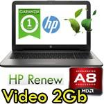 Notebook HP Pavilion 15-ba004nl AMD A8-7410 8Gb 500Gb 15.6' LED Radeon R5 M1-30 2GB Windows 10 HOME