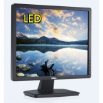 Monitor LCD 19 Pollici Dell E1913 LED BackLight VGA Black Matte
