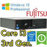 PC Fujitsu Esprimo E510 Core i3-3220 3.3GHZ 4Gb Ram 250Gb DVD-RW Windows 10 Professional