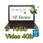 Notebook HP OMEN 17-w000nl Core i7-6700HQ 16Gb 1Tb+128Gb SSD 17.3' FHD Nvidia GeForce GTX 965M 4Gb Windows 10