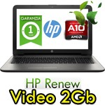 Notebook HP 15-ba032nl AMD A10-9600P 8Gb 500Gb 15.6' LED Radeon R5 M1-70 2GB Windows 10 HOME