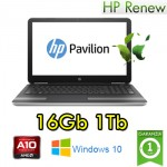 Notebook HP Pavilion 15-ba064nl AMD A10-9600P 16Gb 1Tb 15.6' LED Radeon R5 M1-70 2GB Windows 10 HOME