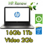 Notebook HP 15-ay065nl Core i5-6200U 16Gb 1Tb 15.6' HD BV LED AMD Radeon R5 M1-30 2GB Windows 10 HOME