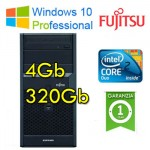 PC Fujitsu ESPRIMO P2560 Core2Duo E7500 2.93GHz 4Gb Ram 320Gb DVDRW Windows 10 Professional TOWER