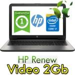 Notebook HP 15-ay029nl Core i7-6500U 4Gb 1Tb 15.6' HD BV LED AMD Radeon R7 M1 2GB Windows 10 HOME