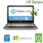 Notebook HP Pavilion x360 13-u005nl Core i3-6100U 4Gb 500Gb 13.3' LED HD TouchScreen Windows 10 HOME