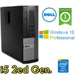 PC Dell Optiplex 390 SFF Core i5-2400 3.1GHz 4Gb 250Gb DVDRW Windows 10 Professional SFF