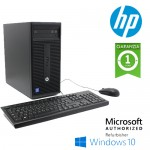 PC HP 280 G1 CMT Intel Pentium G3250 3.1GHz 4Gb 500Gb DVD-RW Windows 10 HOME Tower