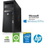 Workstation HP Z420 Xeon QUAD Core E5-1620 3.6GHz 32Gb 256Gb SSD QUADRO K2000 2Gb Windows 10 Professional