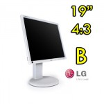 Monitor LCD LG Flatron E1910 19 Pollici VGA DVI AUDIO Gray Light 4:3 [GRADE B]