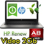 Notebook HP G 15-ba039nl A8-7410 2.2GHz 8Gb 1Tb 15.6' AMD Radeon R5 M1-30 2GB Windows 10 HOME