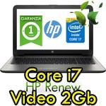 Notebook HP Pavilion 15-au024nl 2.5GHz i7-6500 8Gb 1Tb 15.6' HD LED GeForce 940MX 2GB Windows 10 HOME