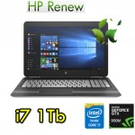 Notebook HP Pavilion 15-bc018nl Core i7-6700HQ 16Gb 1Tb 15.6' FHD Nvidia GeForce 950M 2G Windows 10 HOME