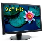 Monitor LCD 24 Pollici LaCie 324 VGA DVI HDMI USB 1920x1200 Black