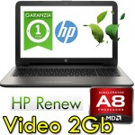 Notebook HP 15-ba071nl A8-7410 2.2GHz 12Gb 256Gb SSD 15.6' AMD Radeon R5 M1-30 2GB Windows 10 HOME